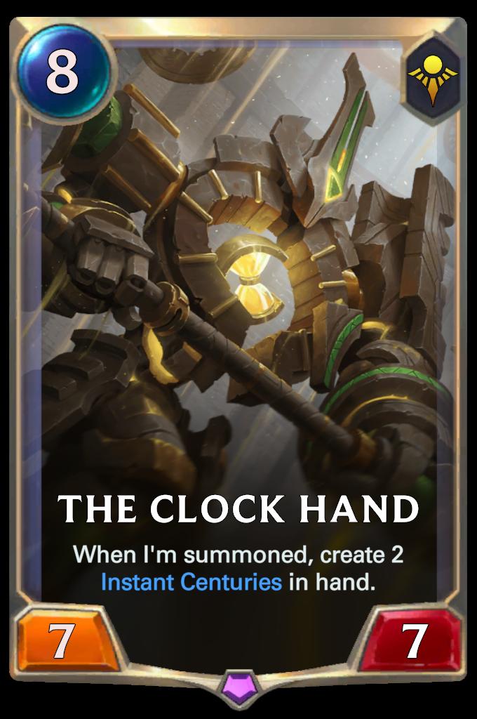 The Clock Hand