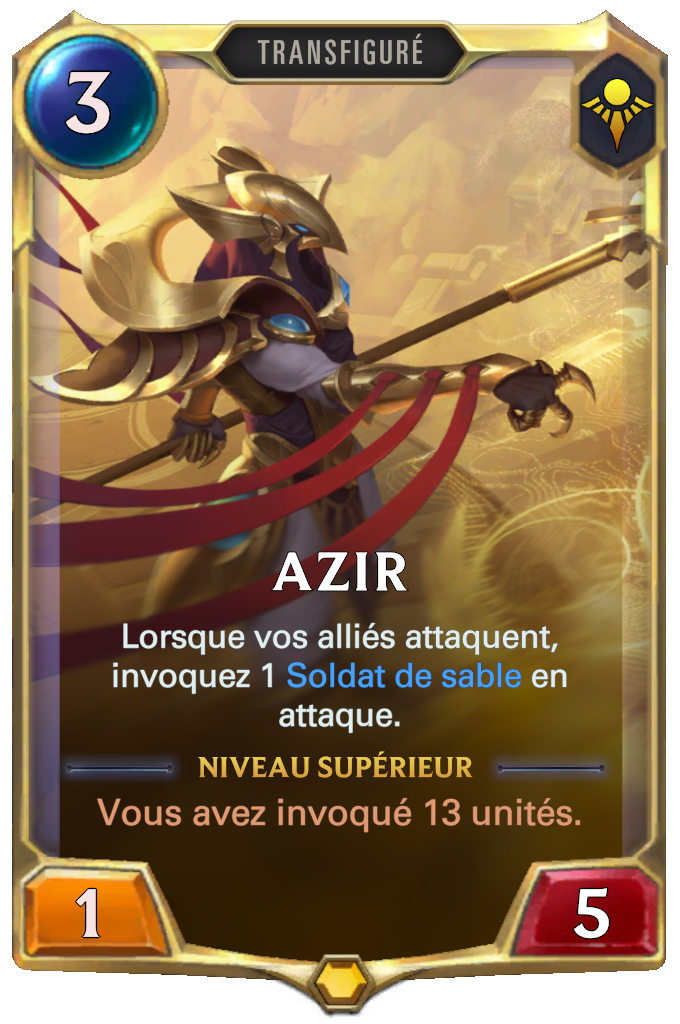 Azir (niveau 1)