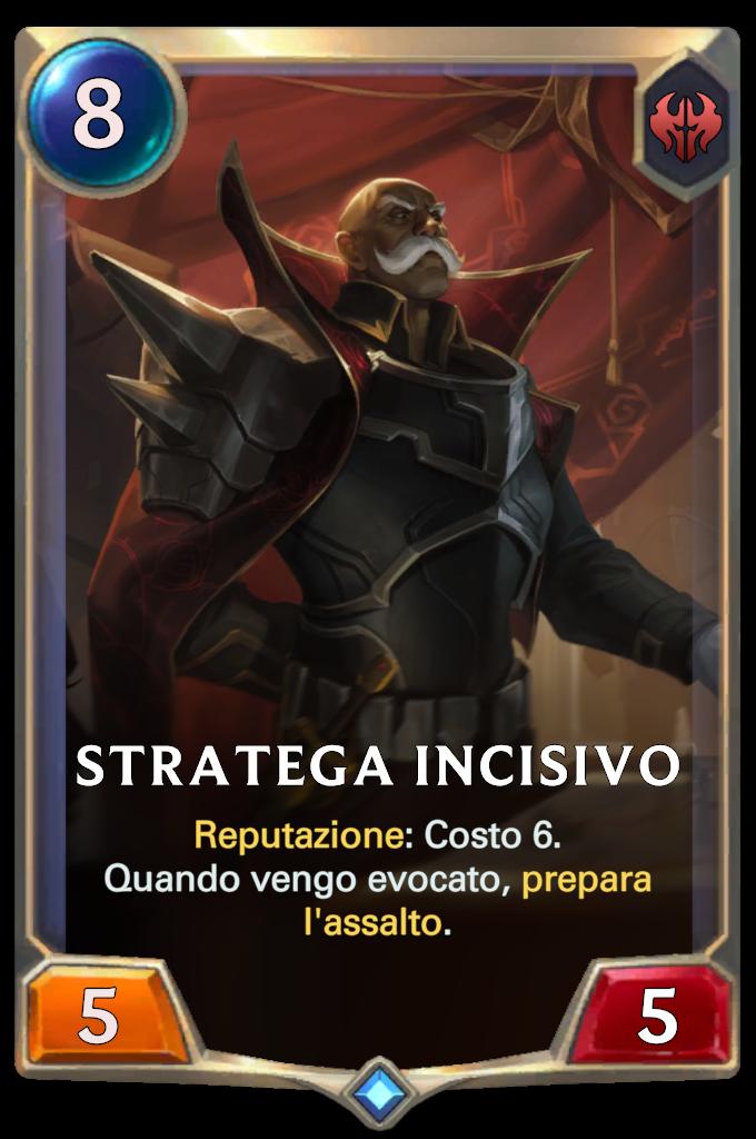 Stratega incisivo