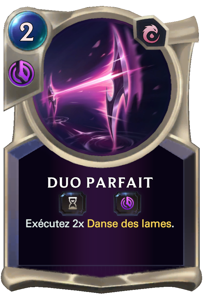 Duo parfait
