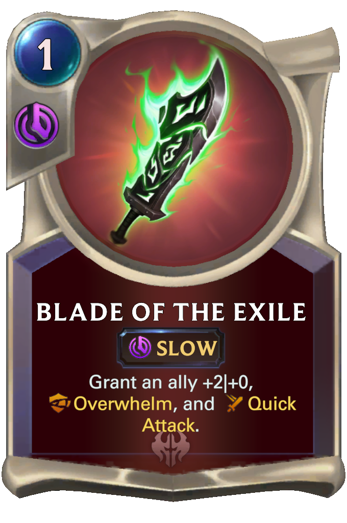Blade of the Exile