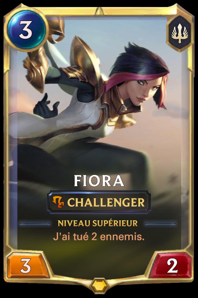 Fiora (niveau 1)