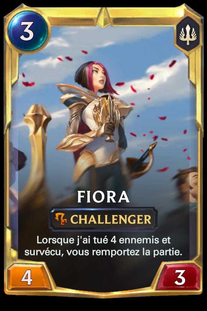 Fiora (niveau)