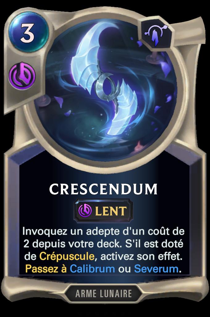 Crescendum