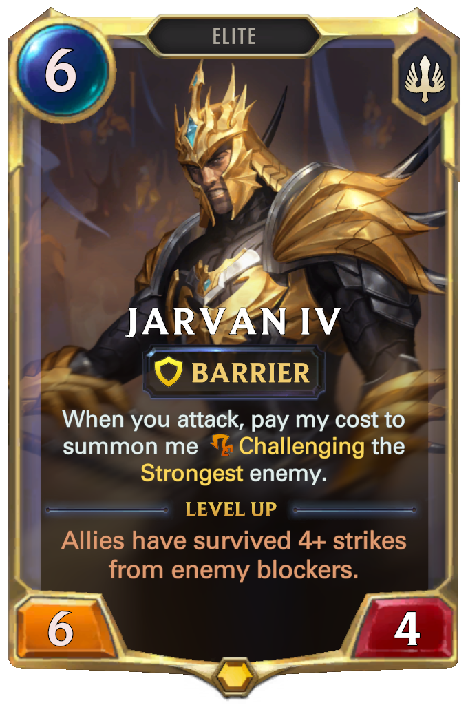 Jarvan IV (Level 1)