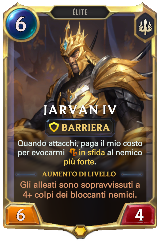 Jarvan IV (livello 1)