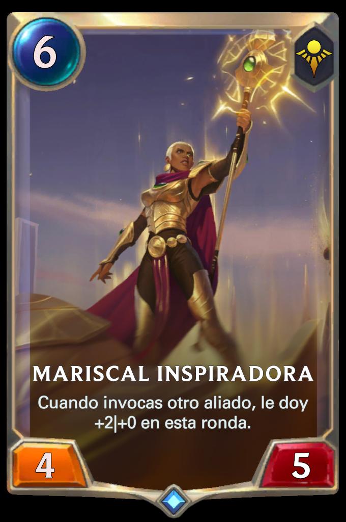 Mariscal Inspiradora