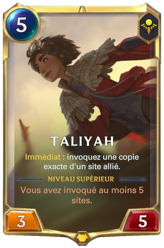 Taliyah (niveau 1)
