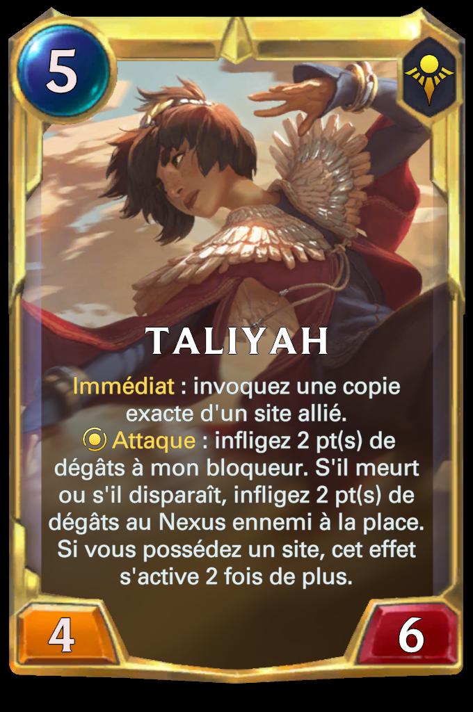 Taliyah (niveau 2)
